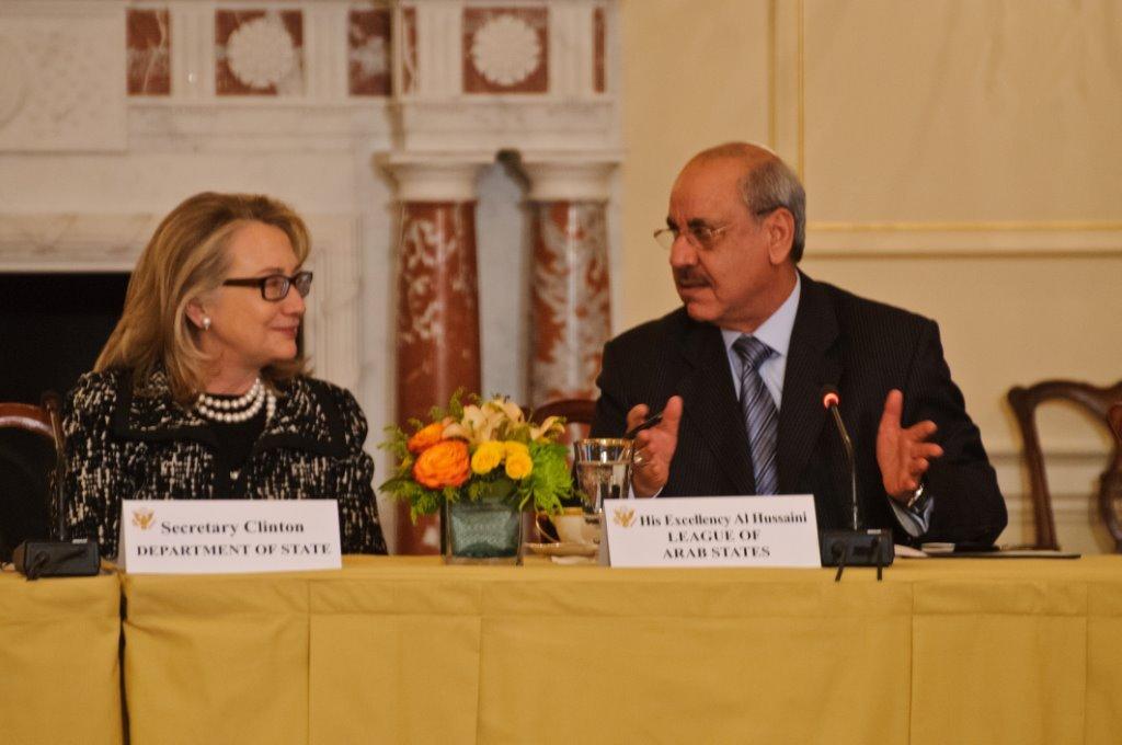 ambassador-alhussaini-al-sharif-secretary-clinton-the-open-book-project
